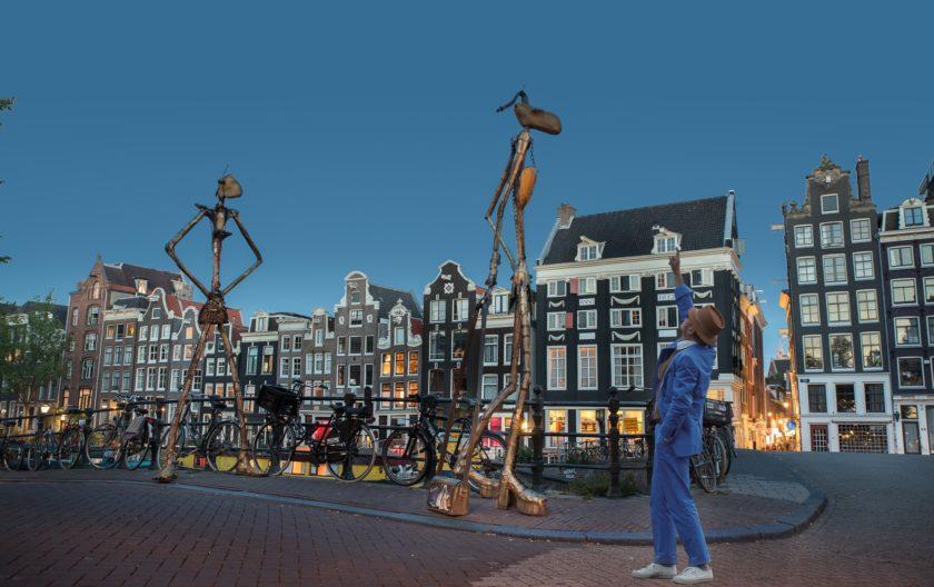 Helga und Olga in Amsterdam